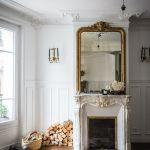 27 Parisian Fireplaces Mantel Decor Ideas