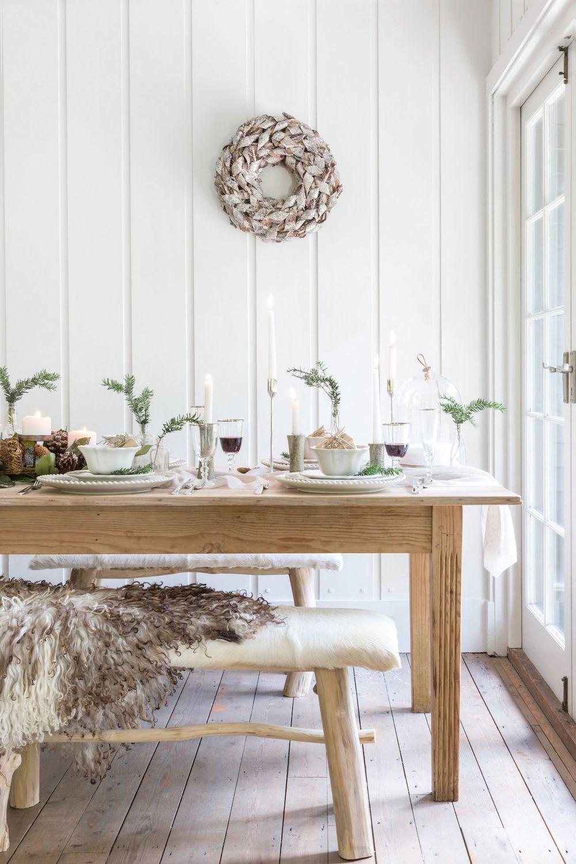 25 Scandinavian Christmas Dining Room Decor Ideas