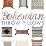 25 Bohemian Throw Pillows In Eclectic And Modern Styles