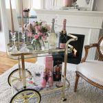 21 Chic Brass Bar Carts