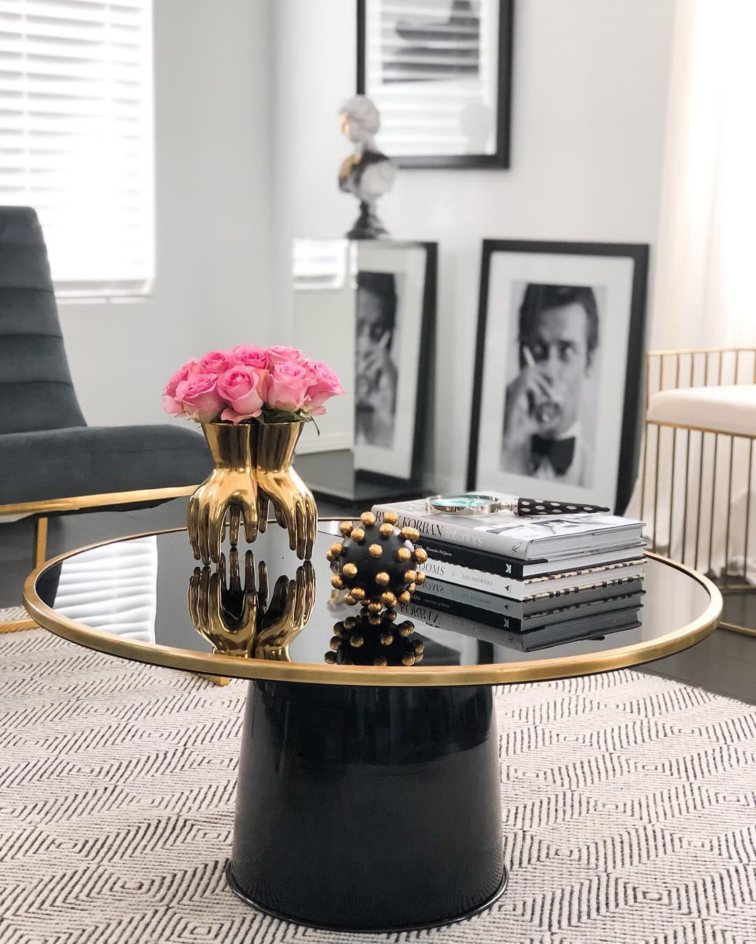 21 gorgeous glam coffee tables
