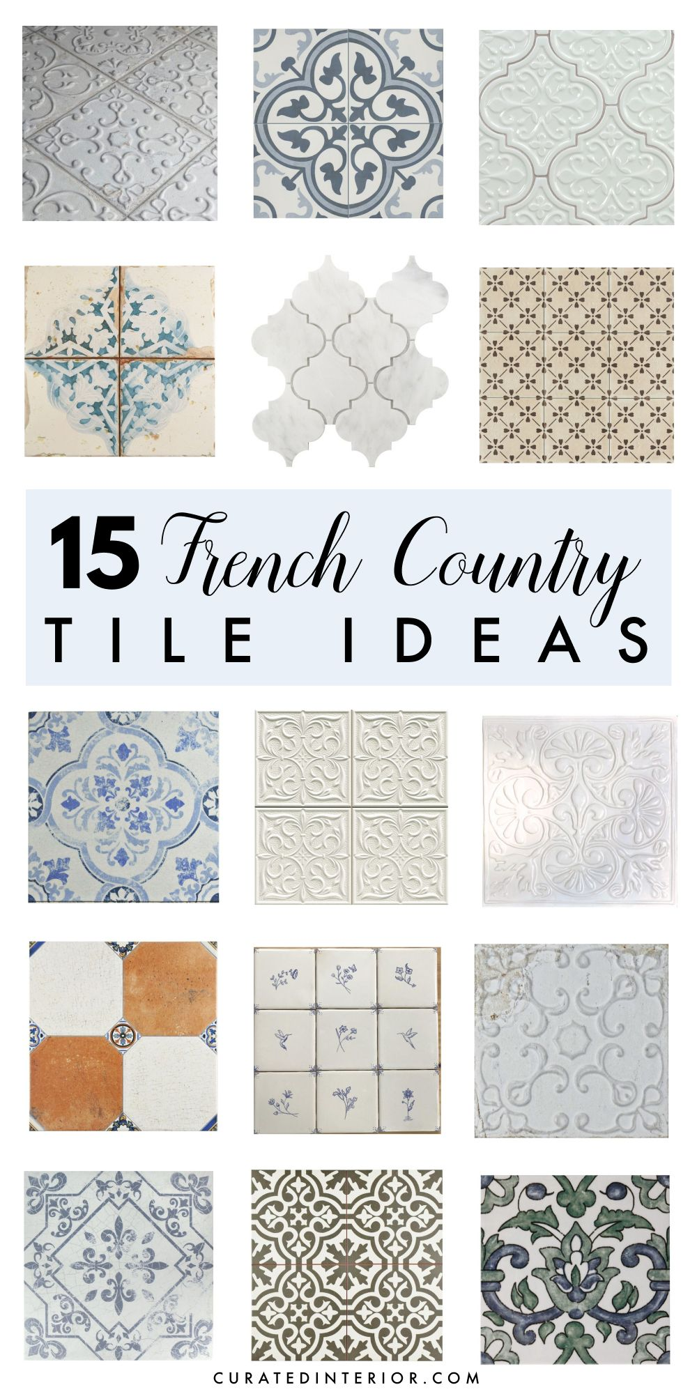 gorgeous french country tiles for walls