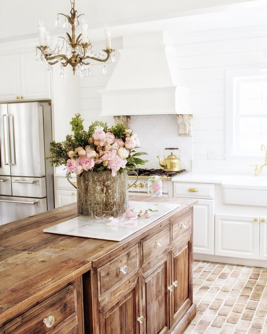 French Country Flooring : french, country, flooring, Gorgeous, French, Country, Kitchens