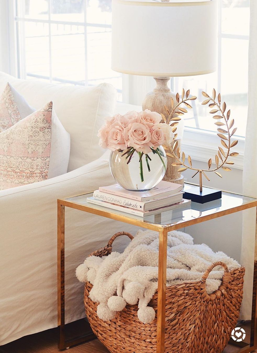 21 best glam side tables