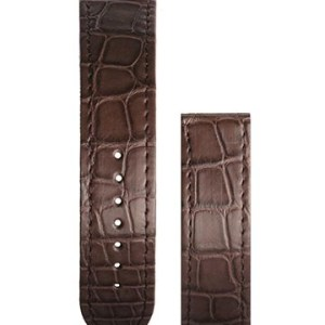 Mauron-Musy-Brown-Alligator-Strap