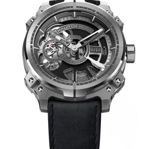 Mauron Musy Skeleton Armure MU05-101 Watch