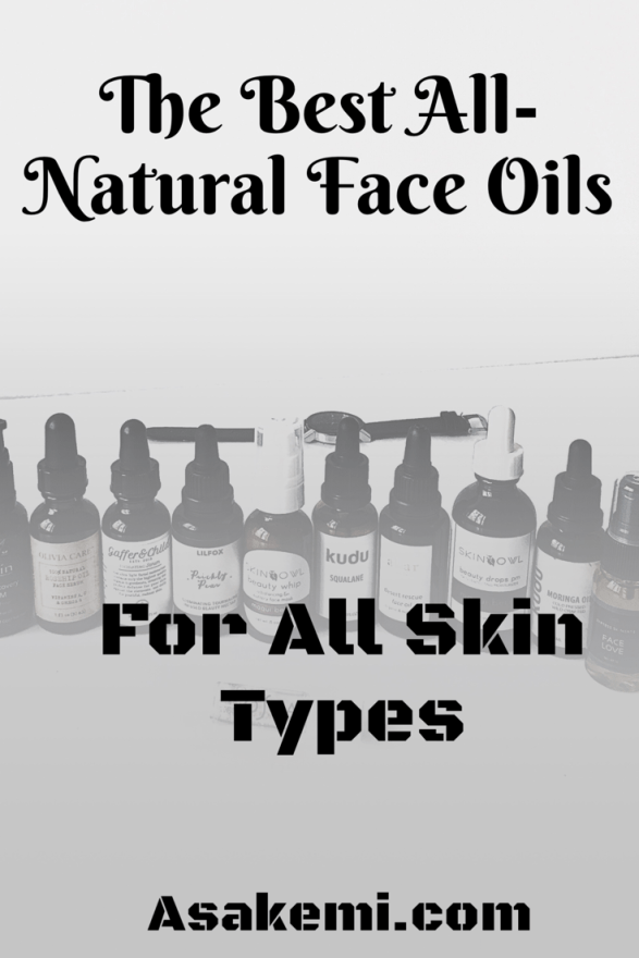 Heal dry skin with natural face oils