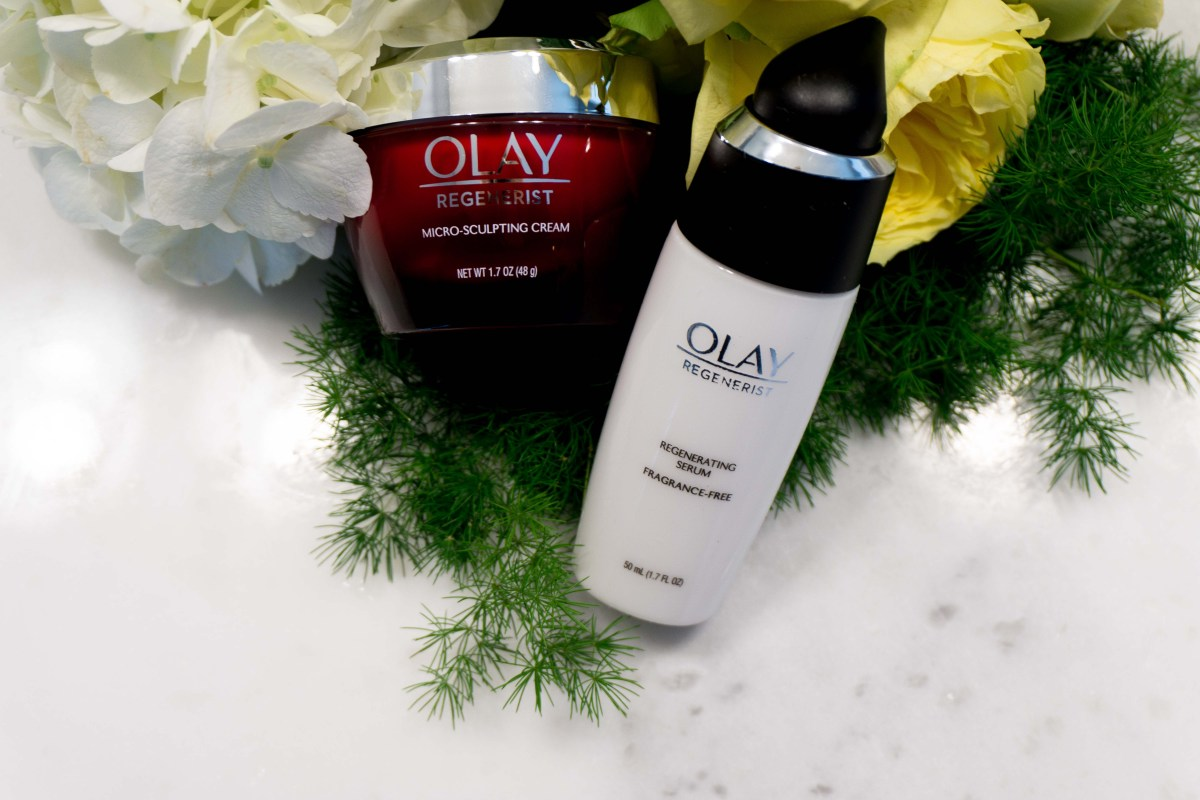 Olay 28 Day Challenge Curateher Regenerist Micro Sclupting Serum By