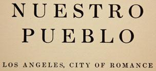 Nuestro Pueblo (Our Town)
