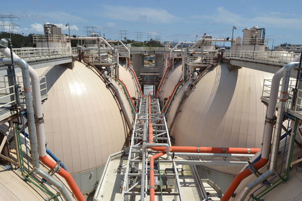Hyperion Treatment Plant - Digesters