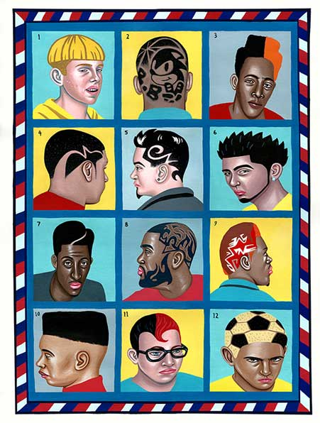 Barbershop by Juliette Toma