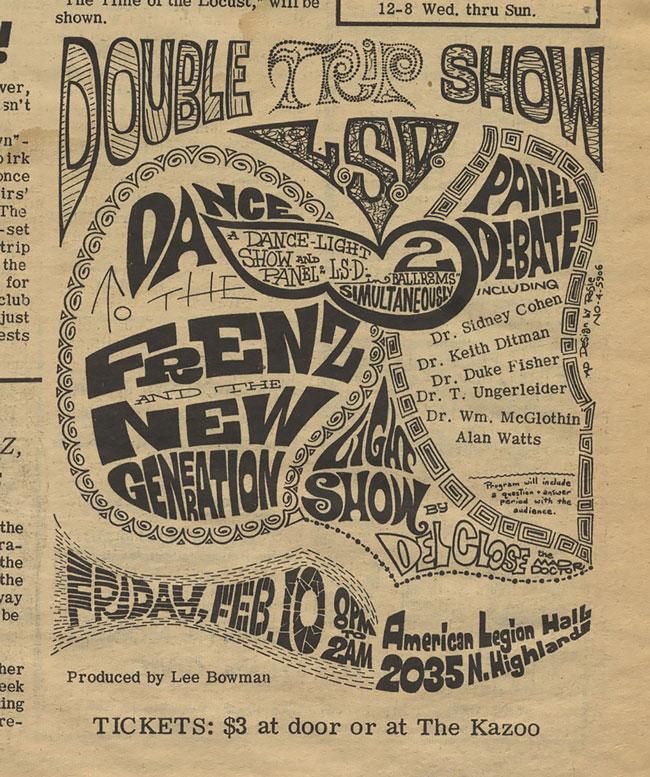 Double Trip Show Advertisement