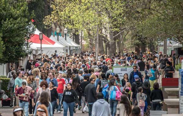 LA Times Festival of Books Crowd