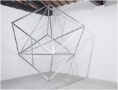 Jose Dávila, Imbalance of perfection, 2010, aluminium, 190 x 190 x 190 cm