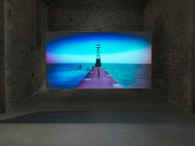 "The Lake - David Wojtowycz - 2012 - film still - DVD - 30'00"" (loop)"