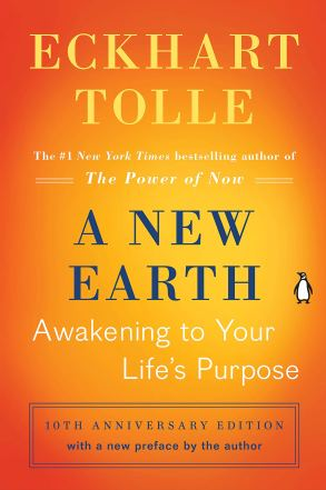 Cover image of A New Earth by Eckhart Tolle