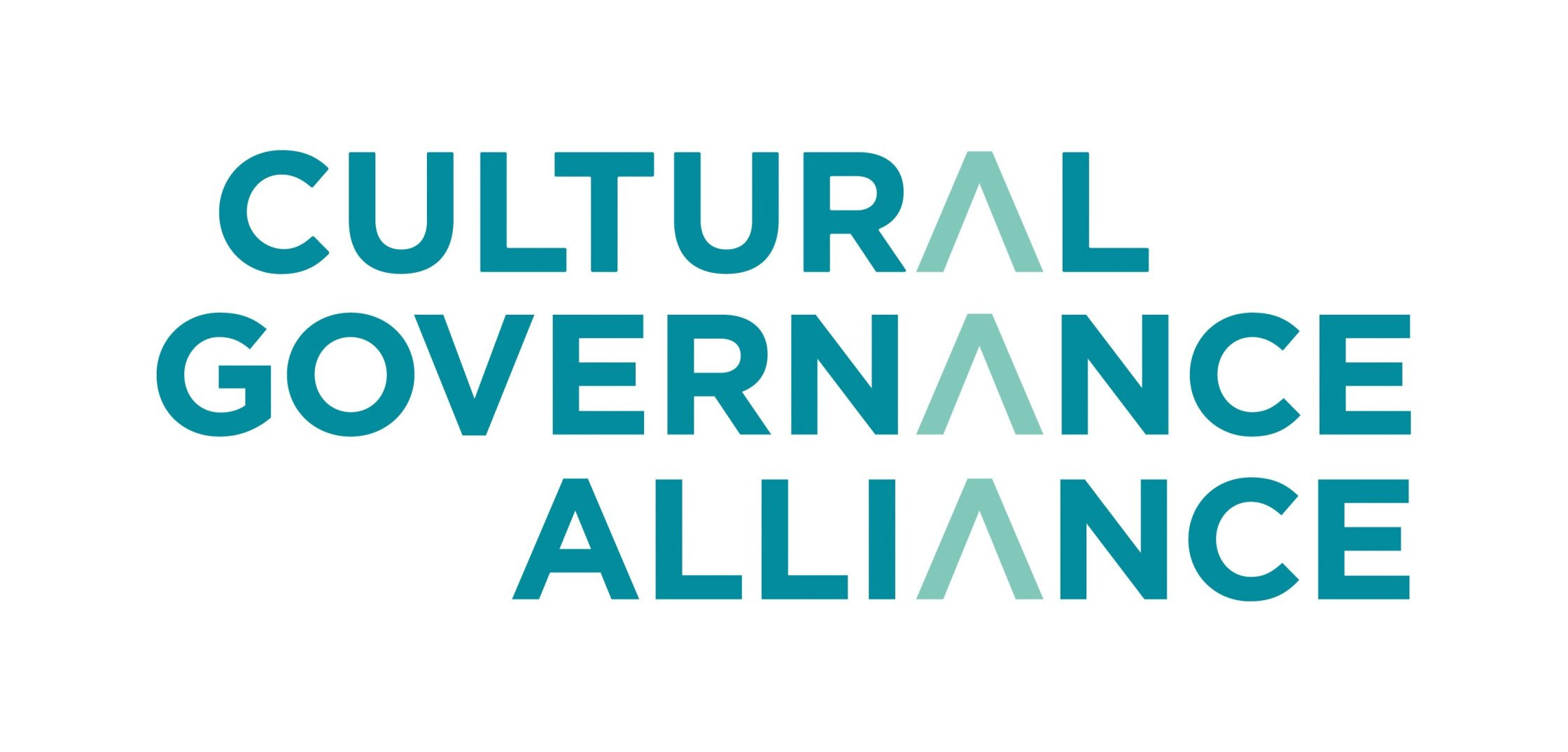 Logo of the Cultural Governance Alliance comprising the words Cultural Governance Alliance