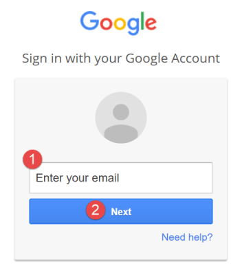 5 enter your email