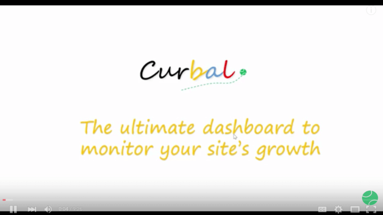 Monitor your site's growth youtube
