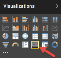 card visualization icon