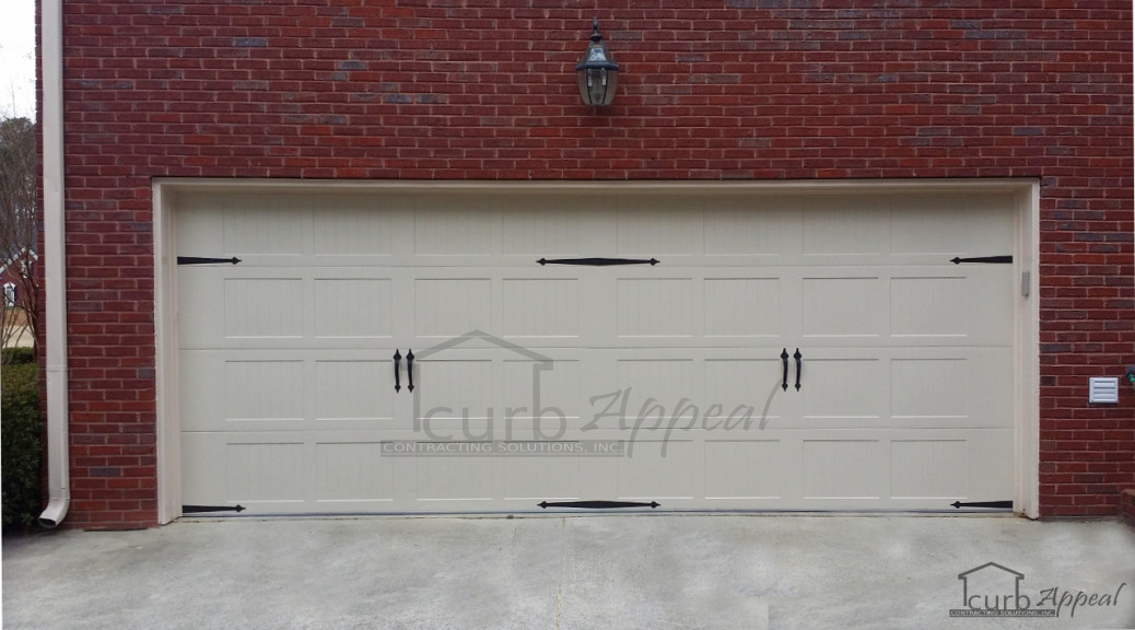 New Garage Door Installed In Alpharetta GA  Curb Appeal Contracting Solutions Inc  CHI 5283