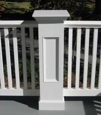 Exterior Pvc. Exterior Porch Pvc Railings. X Pvc Trim ...