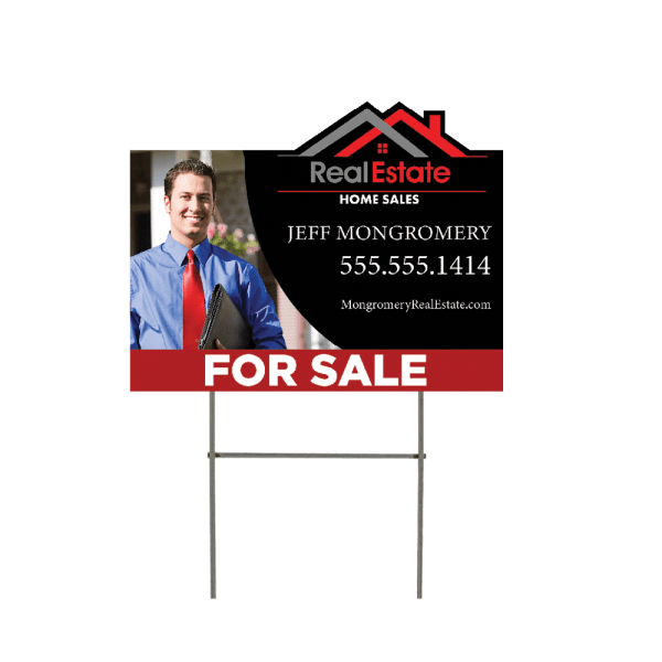 Real-estate lawn sign