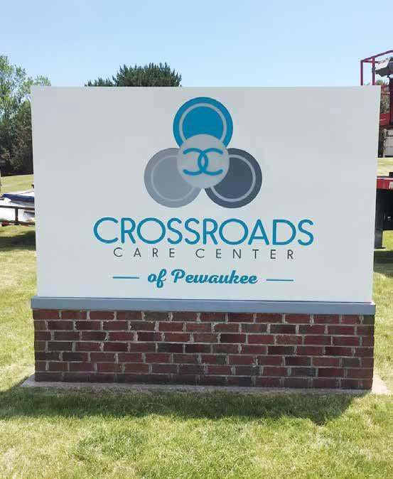 CrossRoads Monument Sign