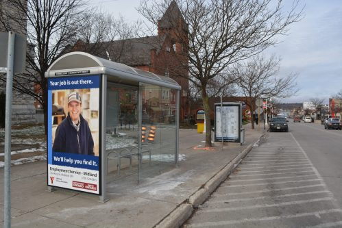 Curbex Branded Bus Shelter