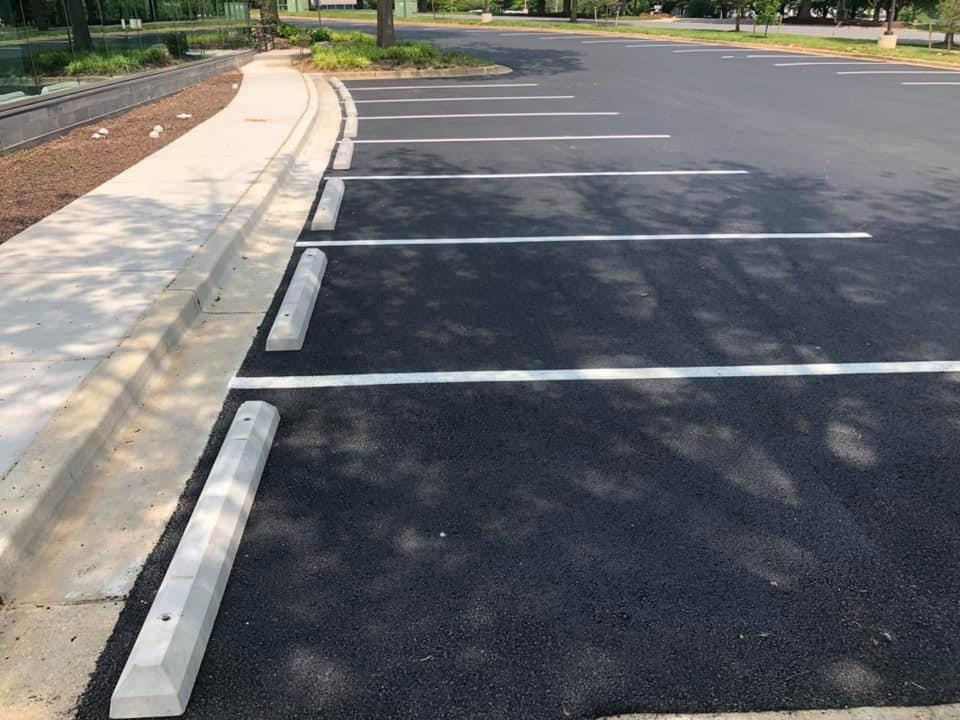 Economy Parking Curbs-Curbo #CCS Concrete Parking Bumper
