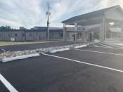 Concrete Parking Curbs-Concrete Car Stops-Concrete Parking Blocks are better than Plastic Parking Blocks