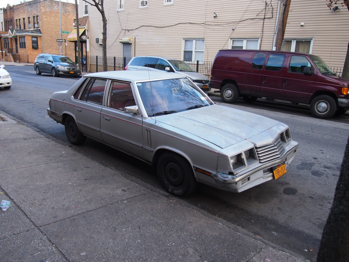 Curbside Capsule 1983 Dodge 600  Eclass With Less Class