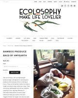 Ecolosophy Web Refresh - Product page