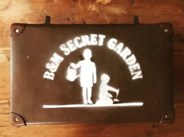 Secret Garden stencil