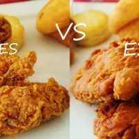 CBB Taste-Off Challenge: Tempting Fate with Fried Chicken! Popeyes VS. Ezell's