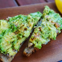 Sardine and Avocado Toast