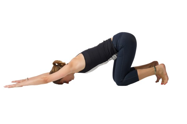 5 Yoga Poses to Welcome the Spring - Extended Puppy Pose (Uttana Shishosana)