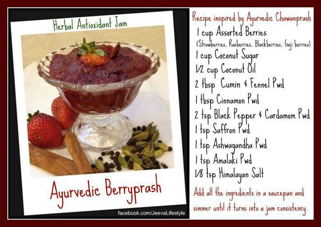 Ayurvedic BerryPrash (Ingredients) JeevaLifestyle.com