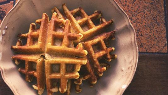 Almond Flour Waffles