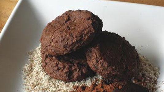 Double Chocolate Almond Flour Cookies Recipe
