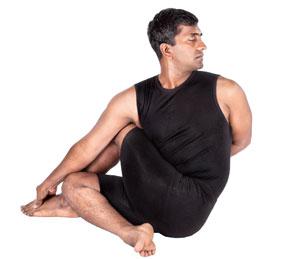 Ardha Matsyendrasana - Spinal twist pose