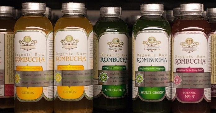 Kombucha The Healthy Fizzy Drink