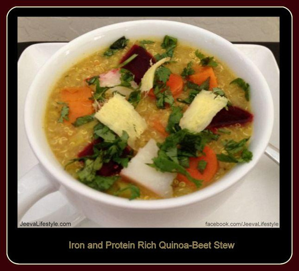 Nourishing Quinoa-Beet Stew [Recipe]