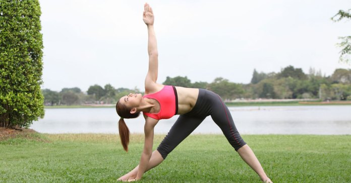 Yoga Stretches - Quick Side Stretch Video