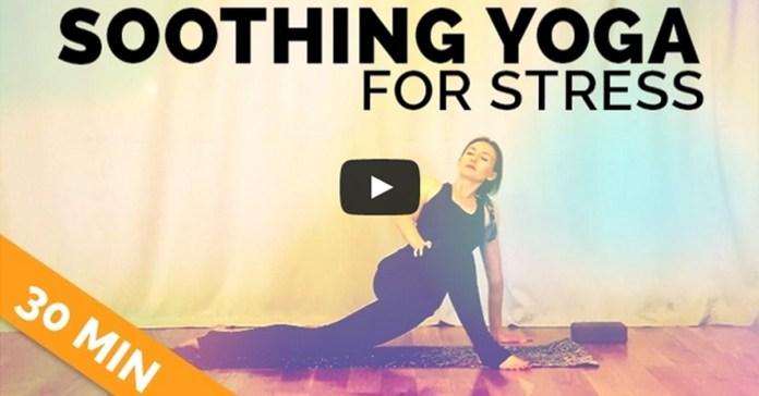 Easy Yoga Routine for Stress (30-min)