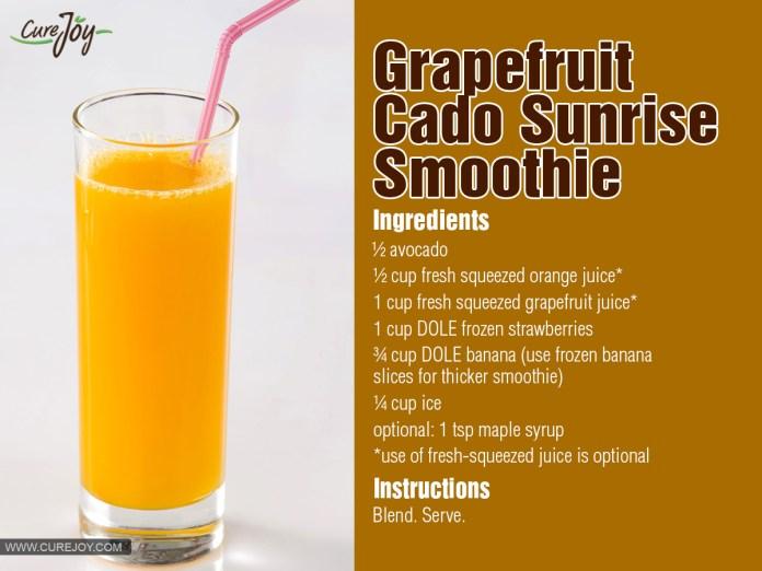 Grapefruit-Cado-Sunrise-Smoothie