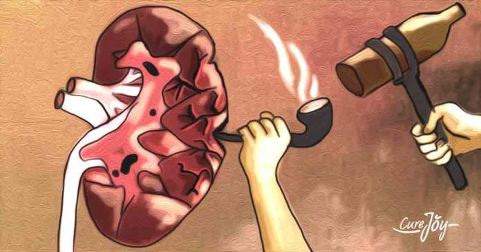 Certain habits can damage your kidneys and lead to diseases