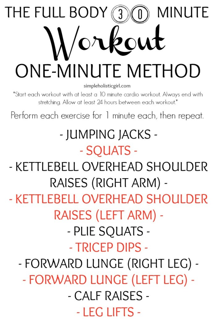 The-Full-Body-30-Minute-Workout-One-Minute-Method