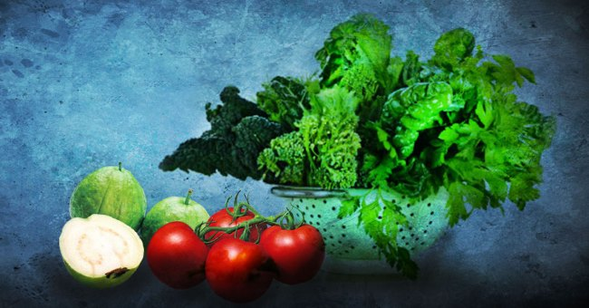 Eat leafy greens to improve eye sight
