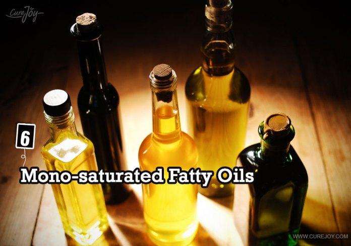 6-mono-saturated-fatty-oils